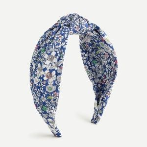 2 For 32⚡J.Crew Turban knot headband - Blue Multi